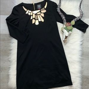 Vince Camuto // Fitted Little Black Dress